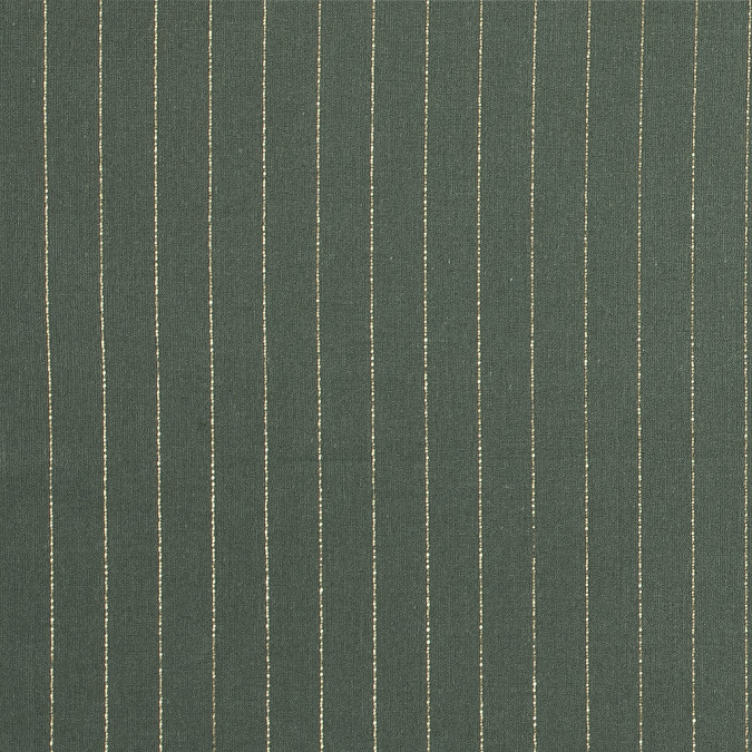four leaf clover cotton lawn with metallic gold pinstripes 313726 11