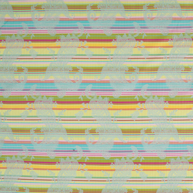 french multi color striped paisley polyester woven fp19724 11