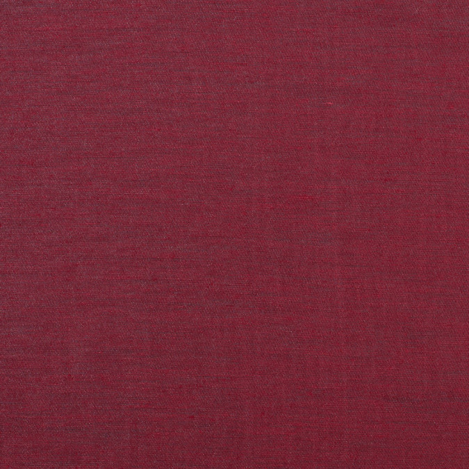 garnet black shimmering double faced cotton woven 308811 11