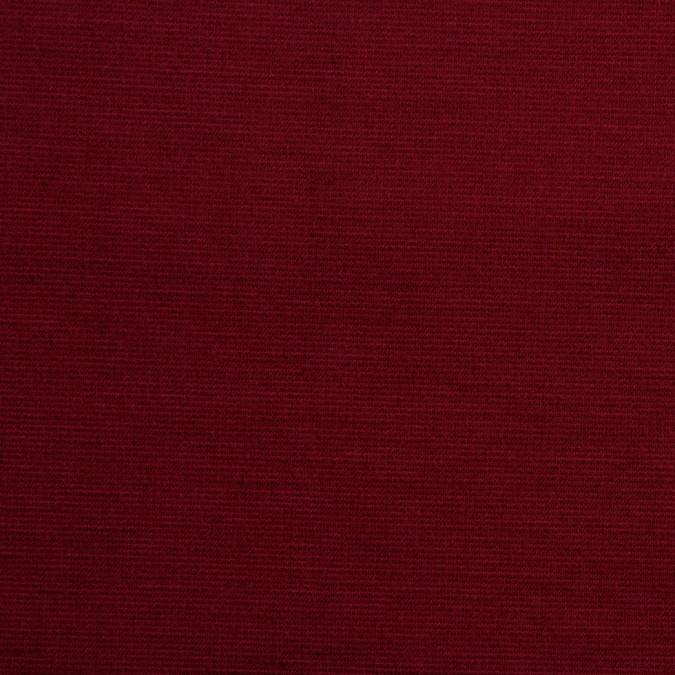 garnet stretch polyester rayon ponte de roma fp16093 11