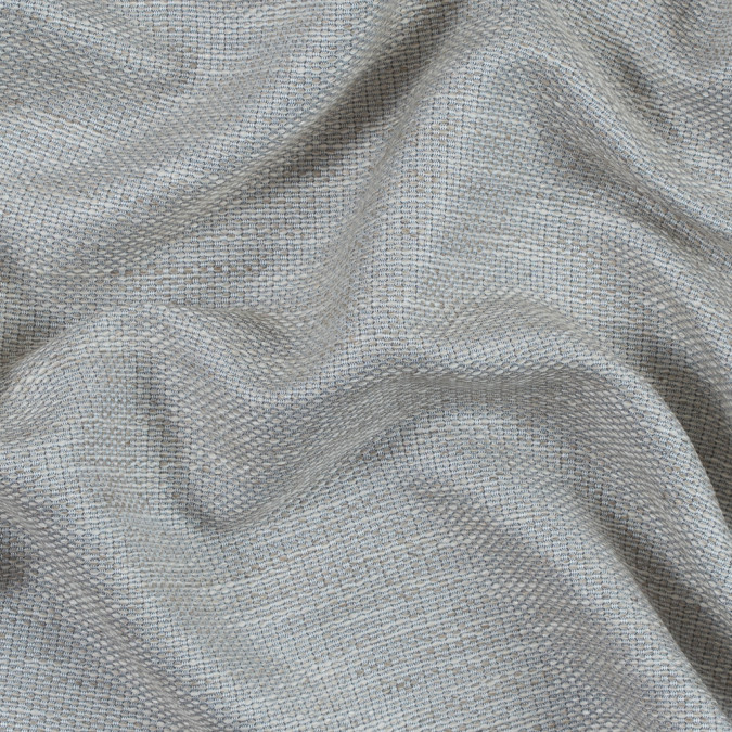 glacier gray and silver lining cotton and rayon tweed 314168 11
