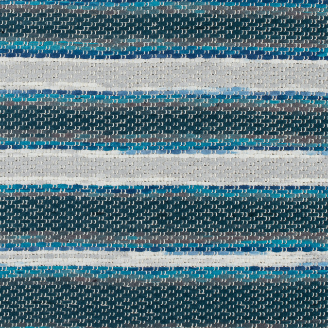 glacier gray mazarine blue lyons blue erget striped loosely woven tweed 311465 11