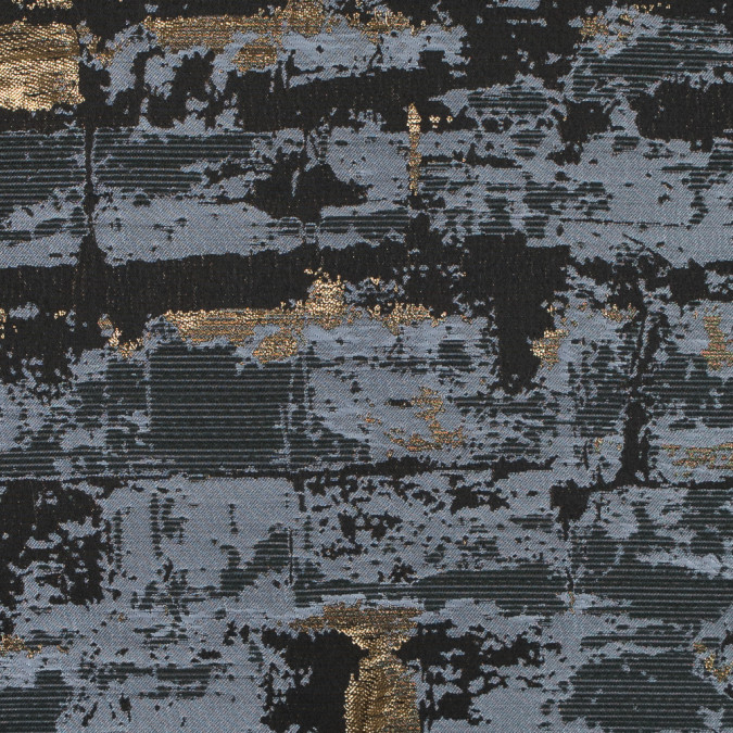 gold black and white abstract metallic jacquard 311083 11