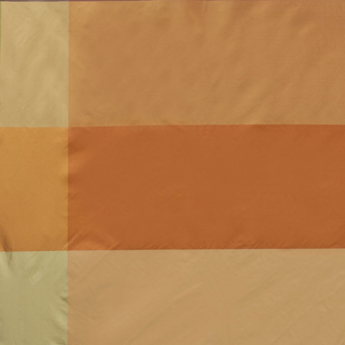 gold taupe and orange armani silk taffeta 300868 11