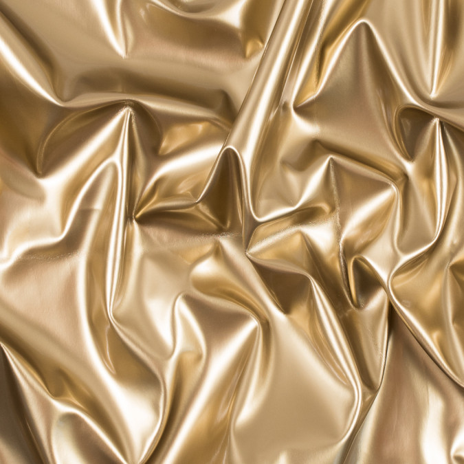 gold glossy stretch imitation latex 113470 11