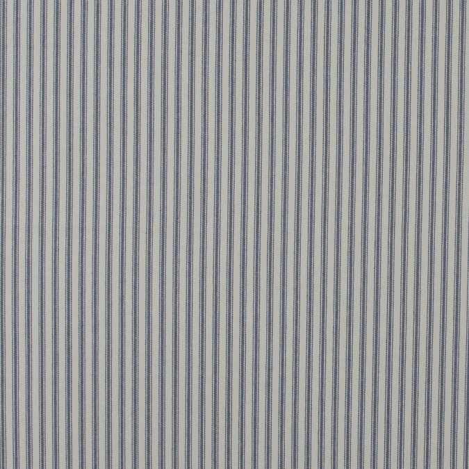 graphite and beige ticking striped cotton twill 118041 11