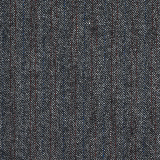 gray red and blue herringbone wool coating 317242 11