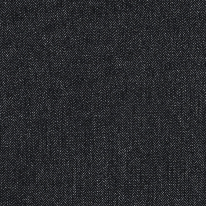 gray and black herringbone wool woven 317884 11