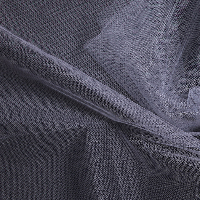 gray nylon net tulle fn19098 11