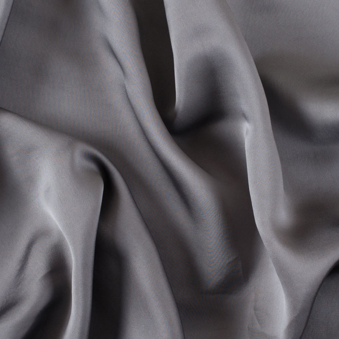 gray solid silk blend charmeuse 303061 11