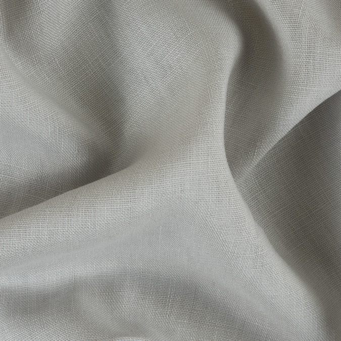 gray woven linen suiting 114299 11