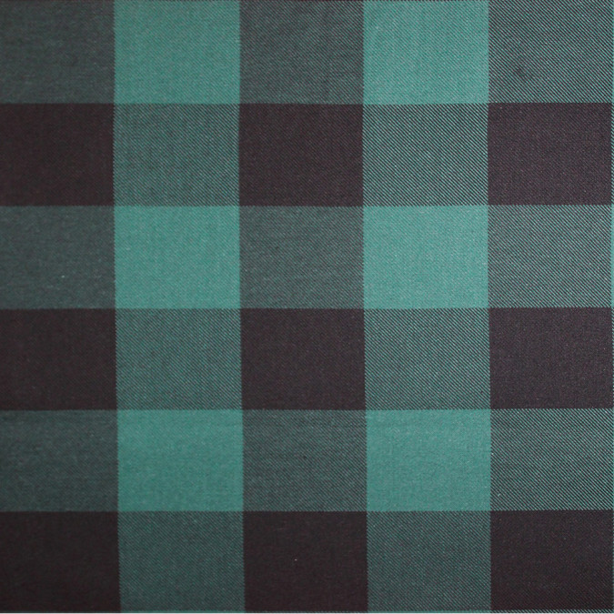 green black buffalo check cotton flannel 308612 11