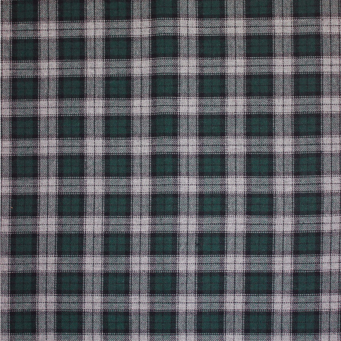 green black gray tartan plaid cotton flannel 308619 11