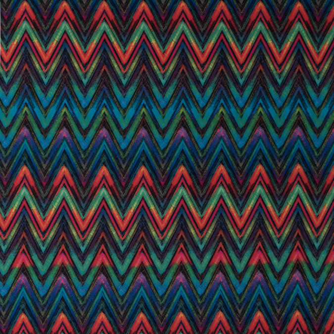 green multi colored chevron max dri anti microbial performance tricot 310875 11