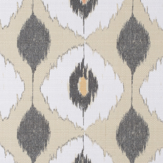 green white ikat upholstery canvas 115757 11