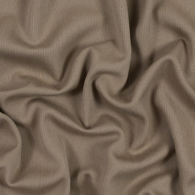greige wool coating with a twill side and a ottoman side 317240 11