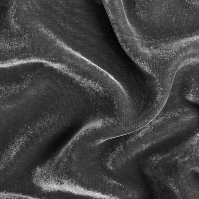gunmetal soft rayon silk velvet 309349 11