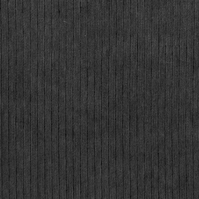 gunmetal striped rayon velvet 309840 11