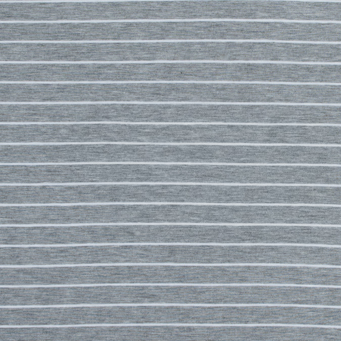 heather gray and white pencil striped jersey 316467 11