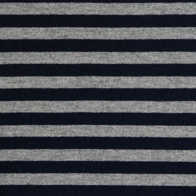 heather gray navy striped cotton jersey 309401 11