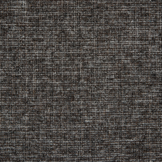 heathered black white bison wool cotton tweed 311452 11