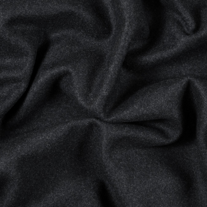 heathered blue nights felted wool coating 313451 11