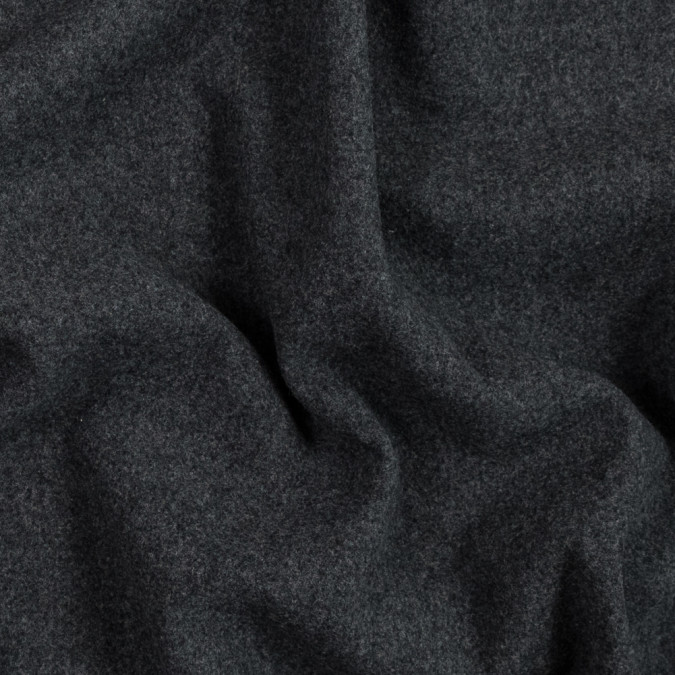 heathered charcoal molten wool coating 319628 11