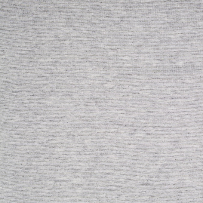 heathered gray and white striped cotton polyester jersey 305532 11
