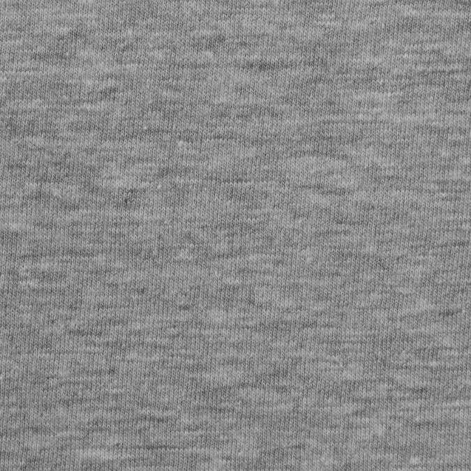 heathered gray cotton jersey knit 309664 11