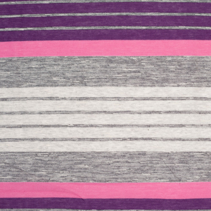 heathered gray purple magic carmine rose striped cotton jersey 305528 11