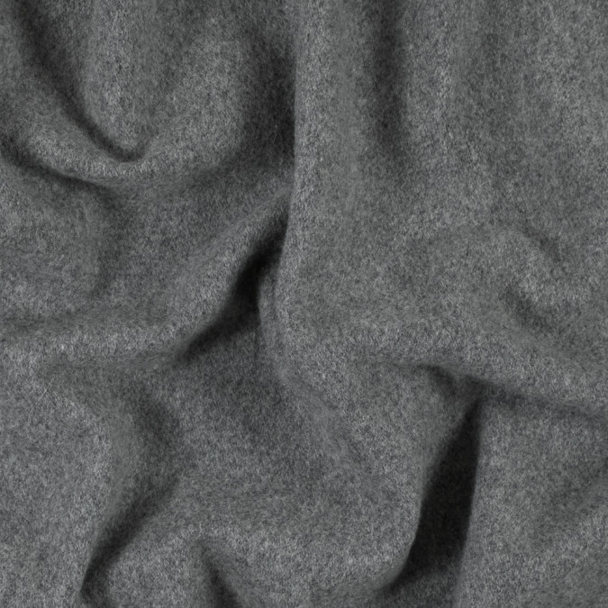heathered gray wool coating 315299 11