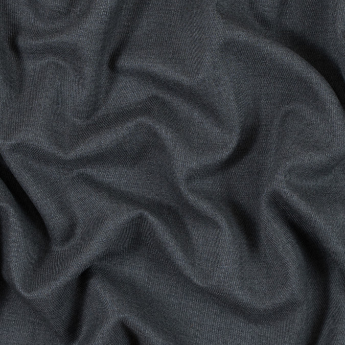 heathered gray wool twill 105348 11