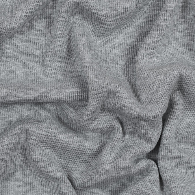 heathered light gray tubular bamboo rib knit 316102 11