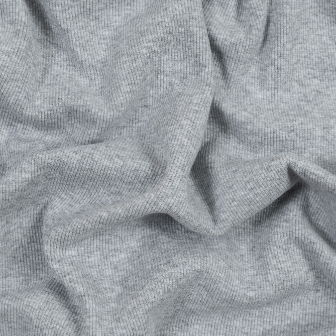 heathered light gray tubular cotton rib knit 316146 11