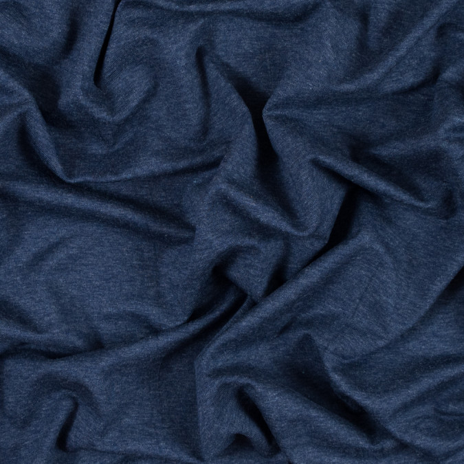 heathered patriot blue stretch rayon jersey 314543 11
