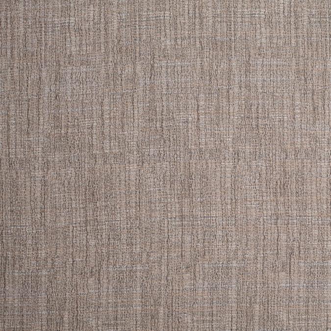heathered tan gauze like cotton polyester crepe 307894 11