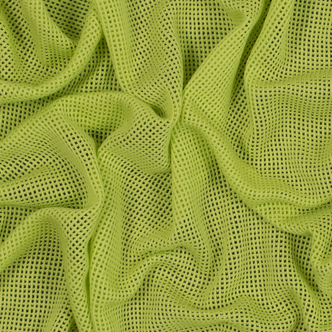 helmut lang acid green open cotton mesh 318664 11