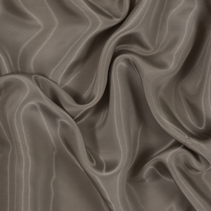 helmut lang tan viscose lining with liquid sheen 318696 11