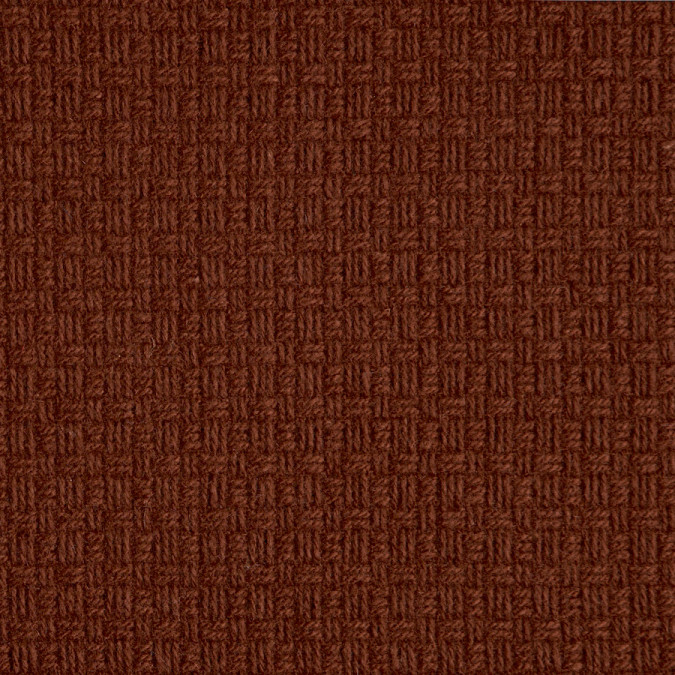 henna textured wool woven coating 309428 11