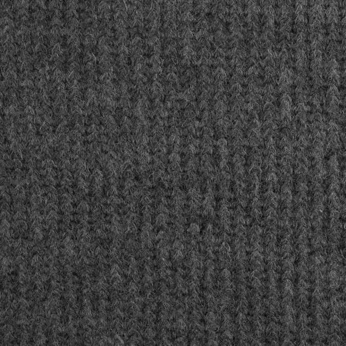 herno gray knit wool coating 308494 11