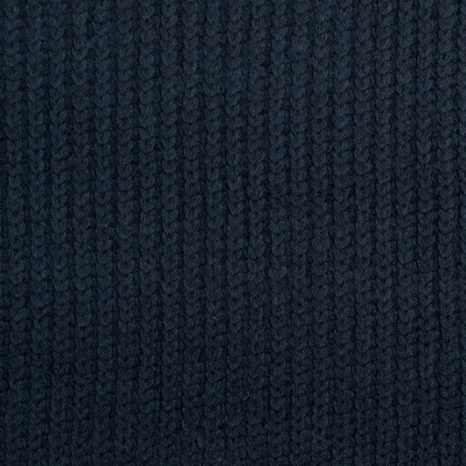 herno navy knit wool coating 308497 11
