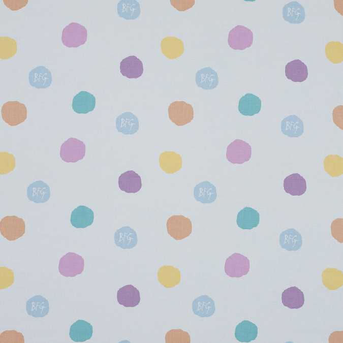 hopscotchy spot printed cotton canvas awg1013 11