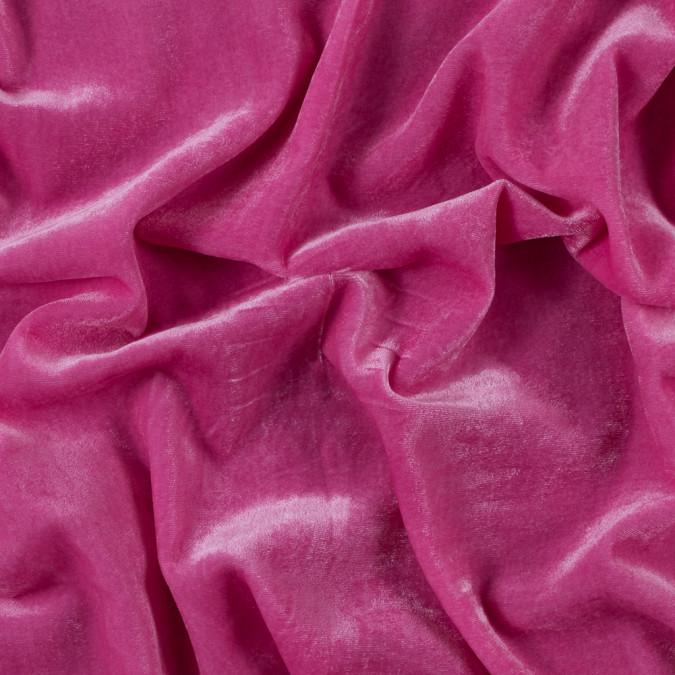 hot pink blended rayon velvet 314991 11