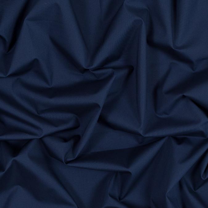 ink blue stretch cotton poplin 315976 11