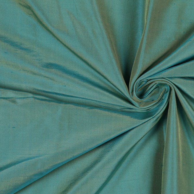 iridescent turquoise solid shantung dupioni fs36003 1090 11