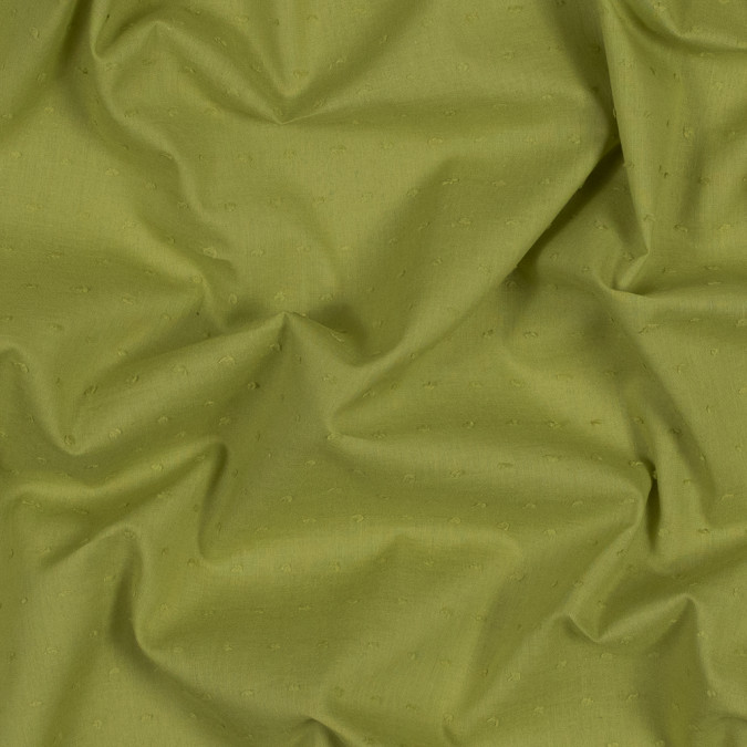 italian acid green cotton swiss dot 316334 11