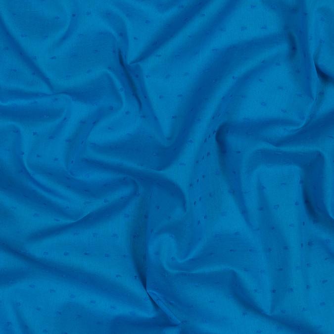 italian aegean blue cotton swiss dot 316336 11