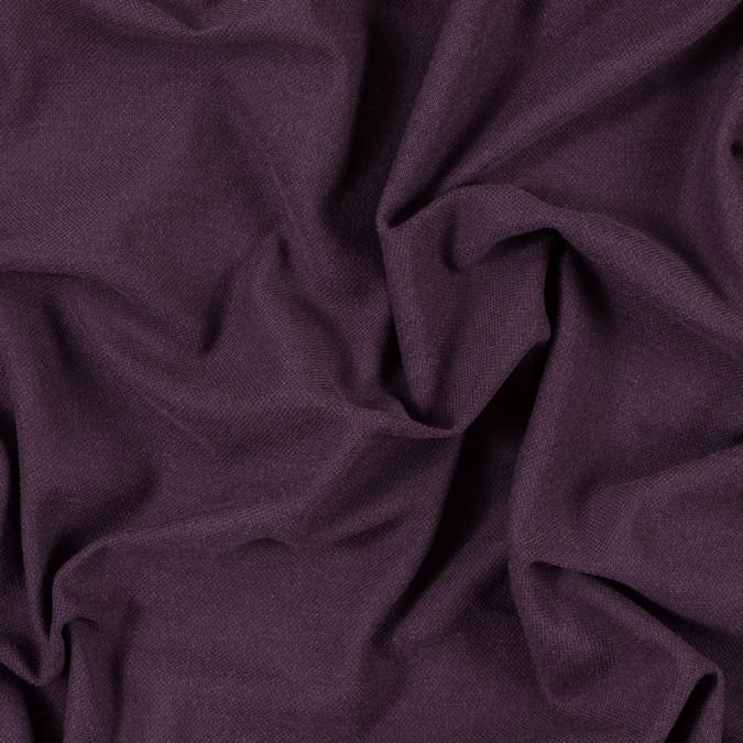 italian aubergine sheer pique knit 315666 11