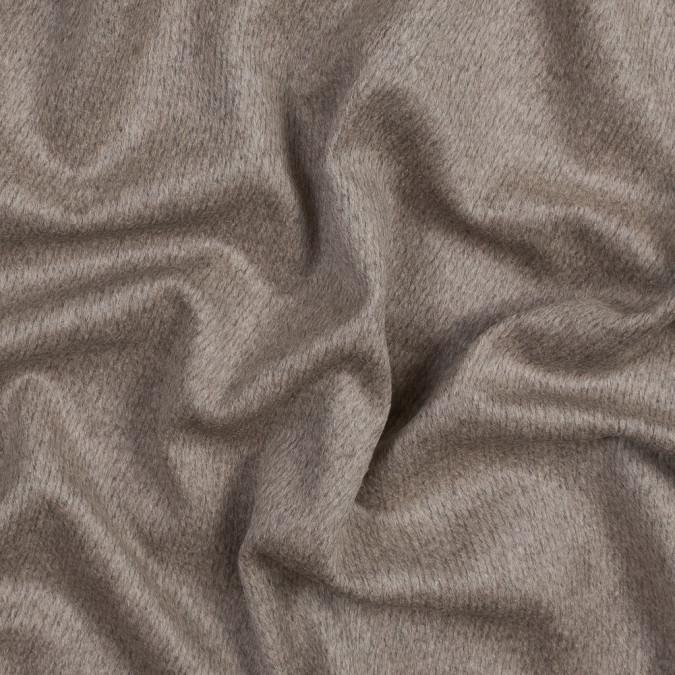italian beige short piled wool twill 316375 11