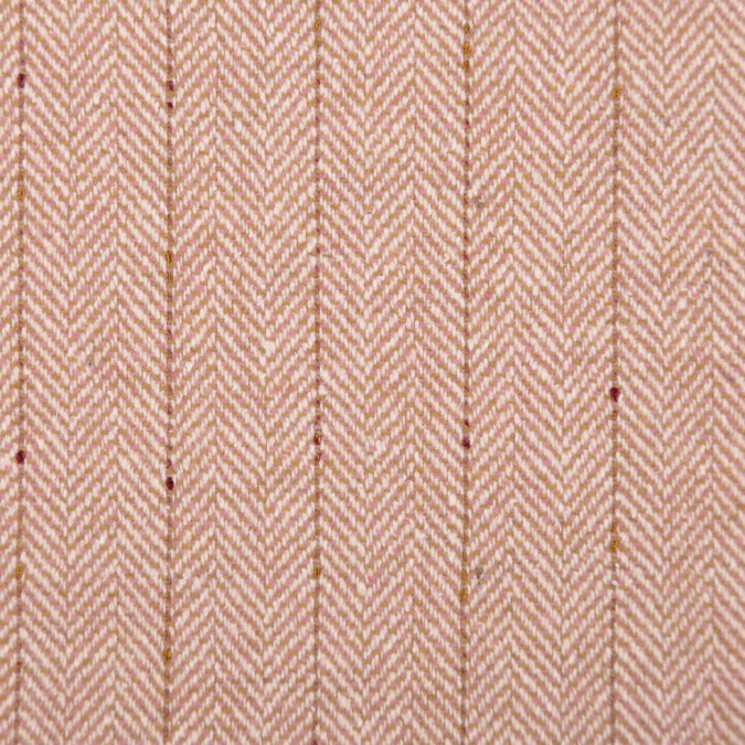 italian beige striped herringbone wool suiting fw11096 11
